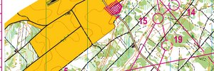 Map 2: Swiss Orienteering Grand Slam