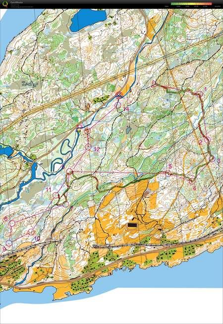 Bod Nattrenn 2 Stver November 2nd 2017 Orienteering Map from