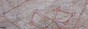 Map: 130 swampy kilometers