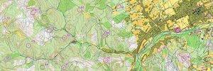 Map: Campionato Europeo di Rogaining – 24 ore – Ucraina