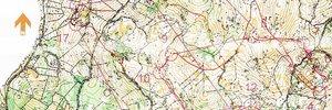 Map: Campionati Italiani long e relay 2016 – Sgonico (TS)