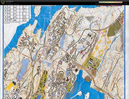 Nuuk O Fest June 28th 2011 Orienteering Map from Michael Eglinski