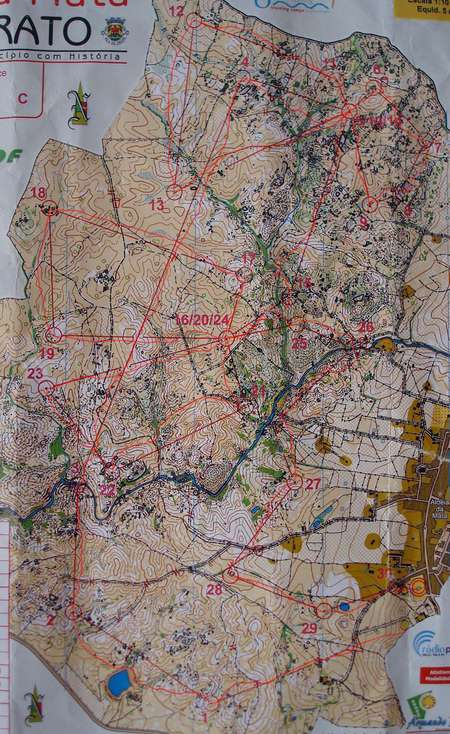 NAOM Long Crato Portugal February Th Orienteering Map - Crato map