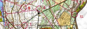 Map: Savonmäki (MAP&GPS) - Cold weather and track-training