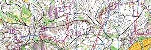 Map: Finálové kolo SP - 14. a 10. místo
