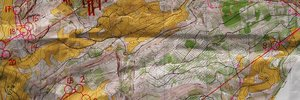 Map 2: �Sprint Billygoat Run im Schnee