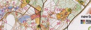 100KP jooks, I kaart (Mägede küla)