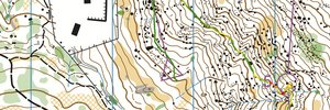 Mt Alexander training - M40's course from easter