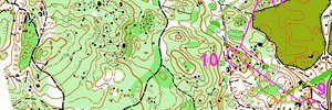 Easy orienteering (BG Cup'15)