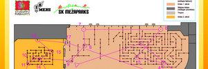 Map 2: Indoor Orienteering
