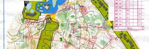 Map 6: Miskolc-tapolca  - Hungarys WOC-training-camp