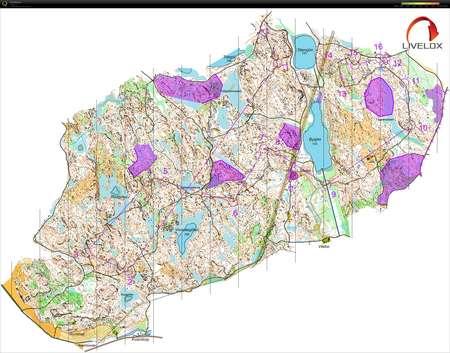 landskrona sweden map