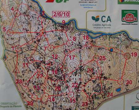 NAOM Middle Crato Portugal February St Orienteering Map - Crato map