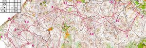 Map: Torzo  - Hungarys WOC-training-camp