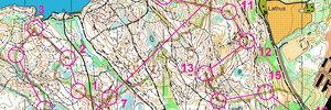 Map: Weltcup Norwegen
