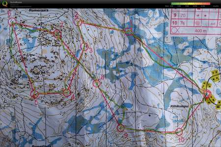 Iso Syotteen Iltarastihommelit June 30th 2017 Orienteering Map