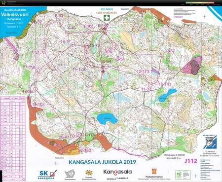 Jukola 2019 June 15th 2019 Orienteering Map From Markku Helin