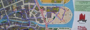 Map 4: Finnish sprint championship