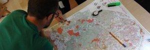 Map 2: Campionati Europei di Rogaining