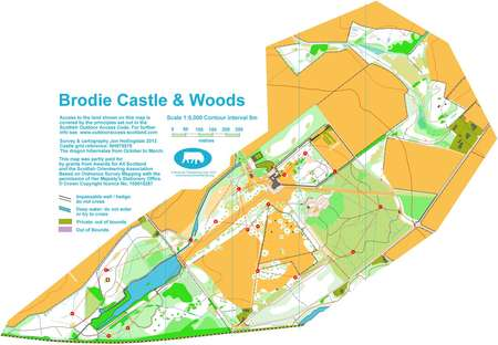Moravian Campus Map.Brodie Castle Saturday And Schools League November 23rd 2013
