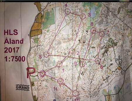 1 7500 Kartta Ahvenanmaa 3 Treeni March 26th 2017 Orienteering