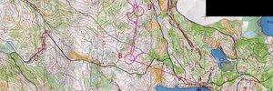 MK 4. etapp, viitstardist tavarada, I kaart (Oslo, NOR)