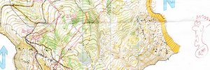 Map: RELAY OF THE DOLOMITES