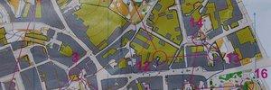 Map: Czech and Finnish selection race - sprint in Šumperk