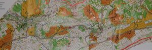 Map: 5 days dolomites - first day - steep