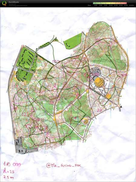 Janis T. o-interval - November 8th 2012 - Orienteering Map from ...