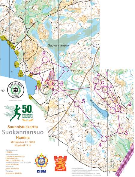 World military championship relay women leg 3 june 15th 2017 world military championship relay women leg 3 june 15th 2017 orienteering map from gpsseuranta gumiabroncs Image collections