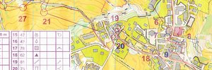 Map: Campionati Italiani sprint e middle 2015