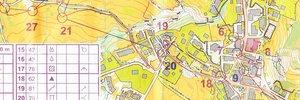 Map: Campionati Italiani sprint e middle 2015