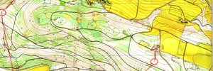 Map: Diplomarbeit & Nacht-OL