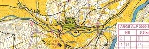 Map:  Arge Alp im Engadin