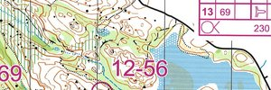 Jukola Training 1 - part 2