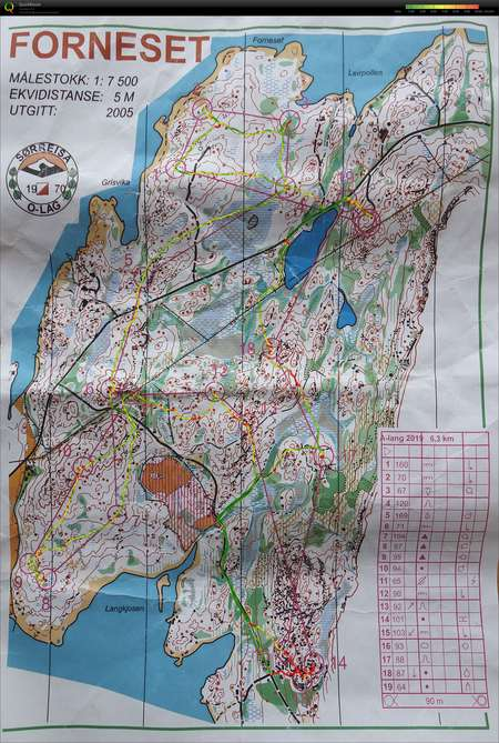 1 Mailopet Pa Senja May 1st 2019 Orienteering Map From Stale