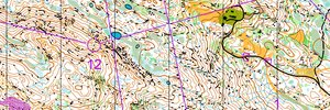 Norwegian WOC Selection Long 2015: H21E