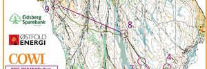 WOC 2019 Middle Qualification
