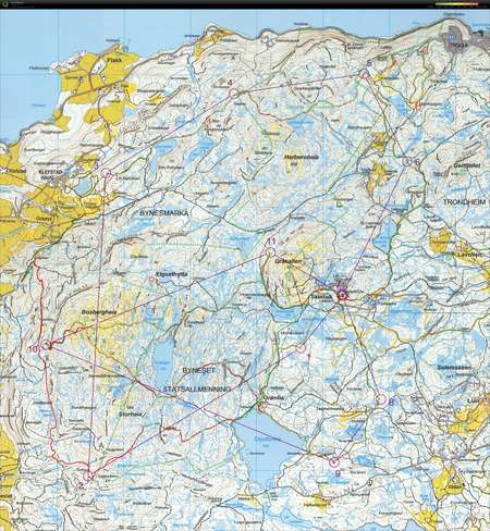 Hu & Hei - October 3rd 2015 - Orienteering Map from Harald ... Map Neska on