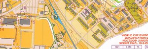 Map 2: World Cup Sprint and Jukola
