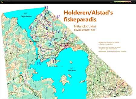 Postplukk Pa Autogenerert Kart July 23rd 2019 Orienteering Map