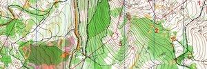 Map 3: 10Mila Vorbereitung, WOC Vorbereitung und Postas Cup