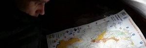 Map: Relay of the Dolomites & Obivwak