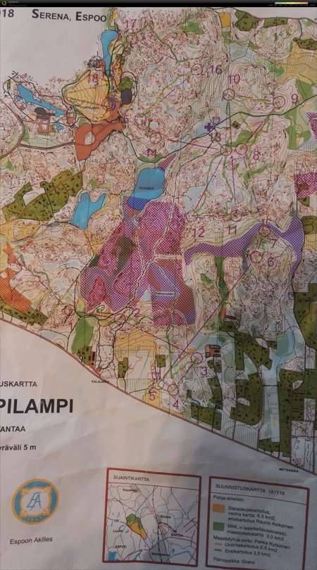 Finnspring 2018 April 21st 2018 Orienteering Map From Valtteri