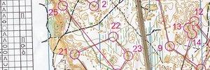 Map 5: Лагер Португалия + Portugal O-meeting