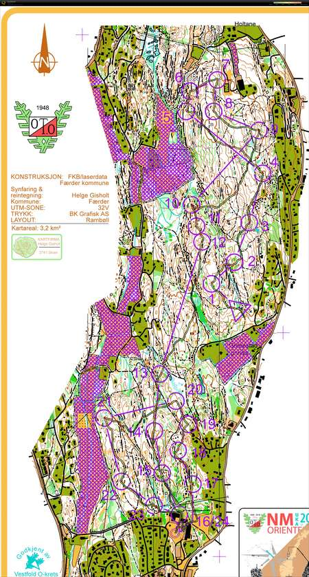 Nm Mellom September 14th 2019 Orienteering Map From Ivar Lundanes