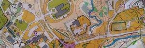 Map: Finnish sprint championship