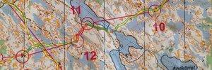 Orienteering intervals