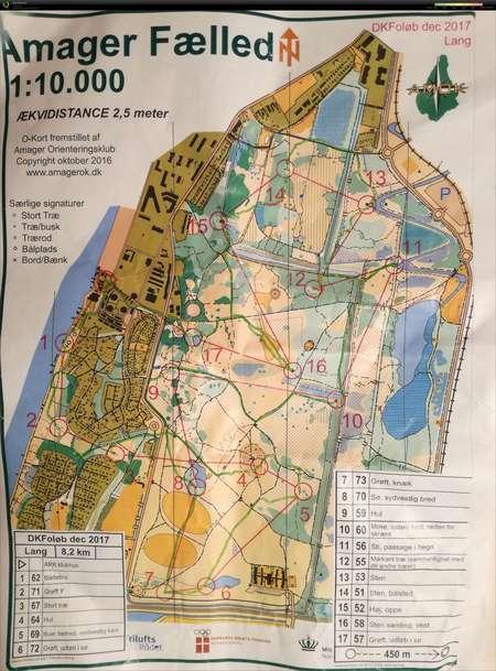 Dkf Olob 3 December 3rd 2017 Orienteering Map From Frederik